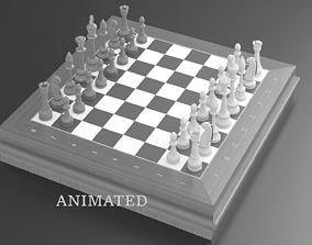 3D model animated chess