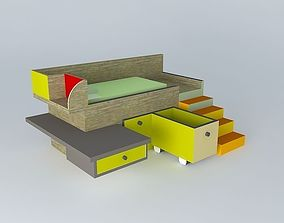 3D Bed Toane Frederic tabary