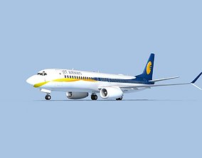 3D model Boeing 737-800 Max Jet Airways