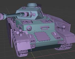 Tanks Panzer 4 3D printable model
