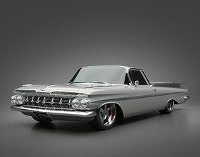 3D 1959 Chevrolet El Camino