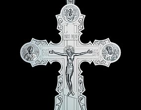 81 RELIGION ICON Cross Crucifix 3D print model