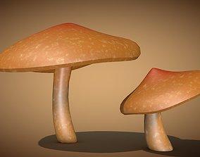 3D asset realtime Mushroom 2