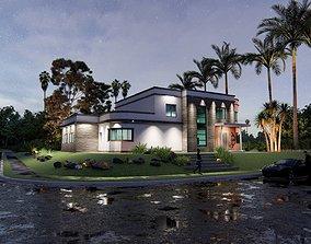 3D printable model Residential House
