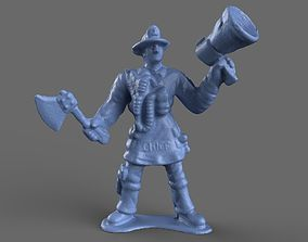 Firefighter Chief 3D model