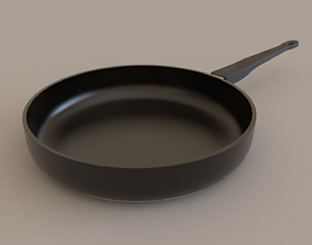 Pan 3D Model low-poly