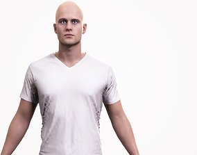 3D asset Human Male Scan - 190M