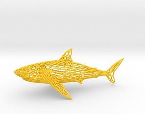 3D print model Great White Shark
