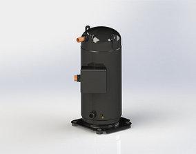 3D model Copeland ZP235KCE TWD