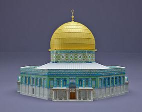 3D model Al-Aqsa Mosque The Dome of the Rock