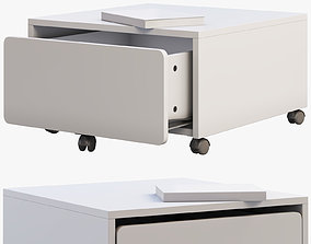 3D model Ikea Slakt Storage box with casters
