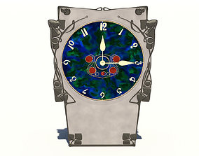 Archibald Knox Clock 3D model