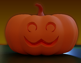 models 3D model Jack o Lantern Lou
