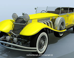 3D GREAT GATSBY 1929 Duesenberg Model J
