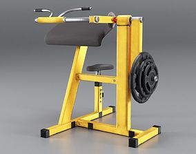 3D model Simulator for Biceps