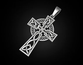 3D print model Celtic cross 2 jewelry