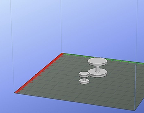 Mini hantel 3D printable model