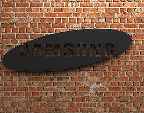 Samsung Logo 3D print model
