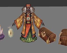 3D model Ancient storekeeper Administrators