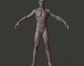 Half-blood Elf Humanoid 3D asset