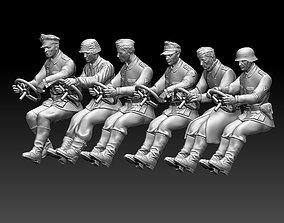 german drivers soldiers 3D printable model
