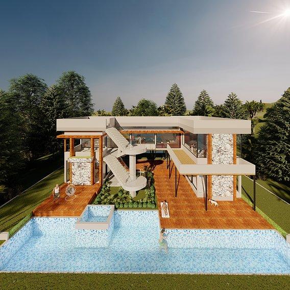 Modern Resort at Koh