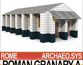 door Roman Granary A 3D