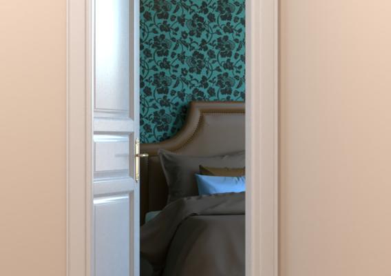 Door V-Ray and SketchUp renders