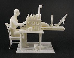 Third Industrial Revolution 3D print model
