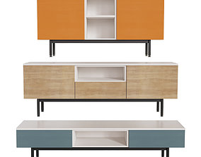 3D model Connubia CB6101 Made Sideboard