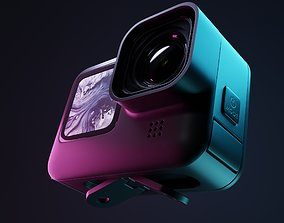 3D Action cam - High poly