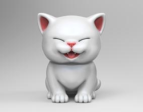 3D printable model Cute Kitten V2 STL for