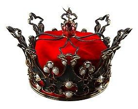 3D model Queens Crown