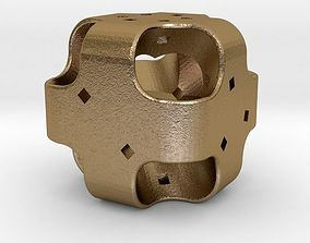 Dice 3D printable model home valentine-challenge