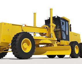 Motor Grader 3D model