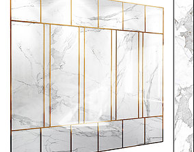 3D Wall Panel Set 88