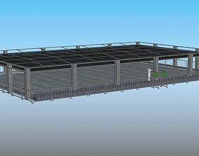old arena 3D asset
