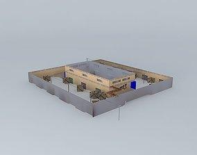Haker Dust clan Map 3D model