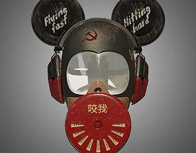 3D model Freaky Mickey - Gas mask