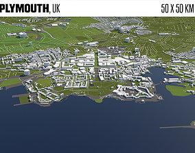 Plymouth UK 3D model