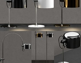 3D model Oluce Coupe Lamp Collection