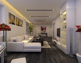 Penthouse Livingroom luxury 3D model