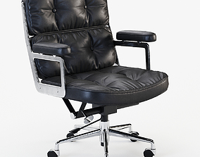 3D model Eames Executive Lobby Chair