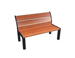 Park Chair v1 002 3D asset