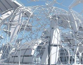 Futuristic Architectural Interior 15 3D