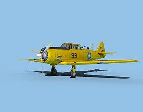 3D model North American AT-6 Texan V12 Malaysia