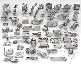 Kit bash-57 pieces - collection-21 3D model