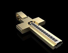 3D print model cross n1