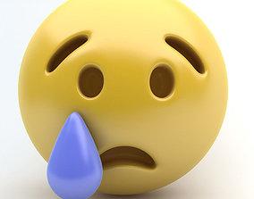 Emoji CRY 3D model