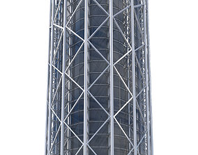 3D model Commercial Building-011 Office Tower